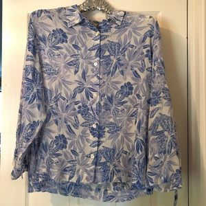 Tommy Bahama Long Sleeve Button Up - Size XL (16)
